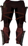 Superior Death Lotus chaps detail