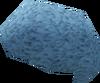 Light blue afro detail