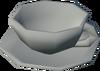 Porcelain cup detail
