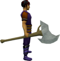 Replica Dharok's greataxe equipped.png