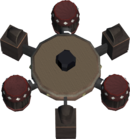 Royale cannon base detail