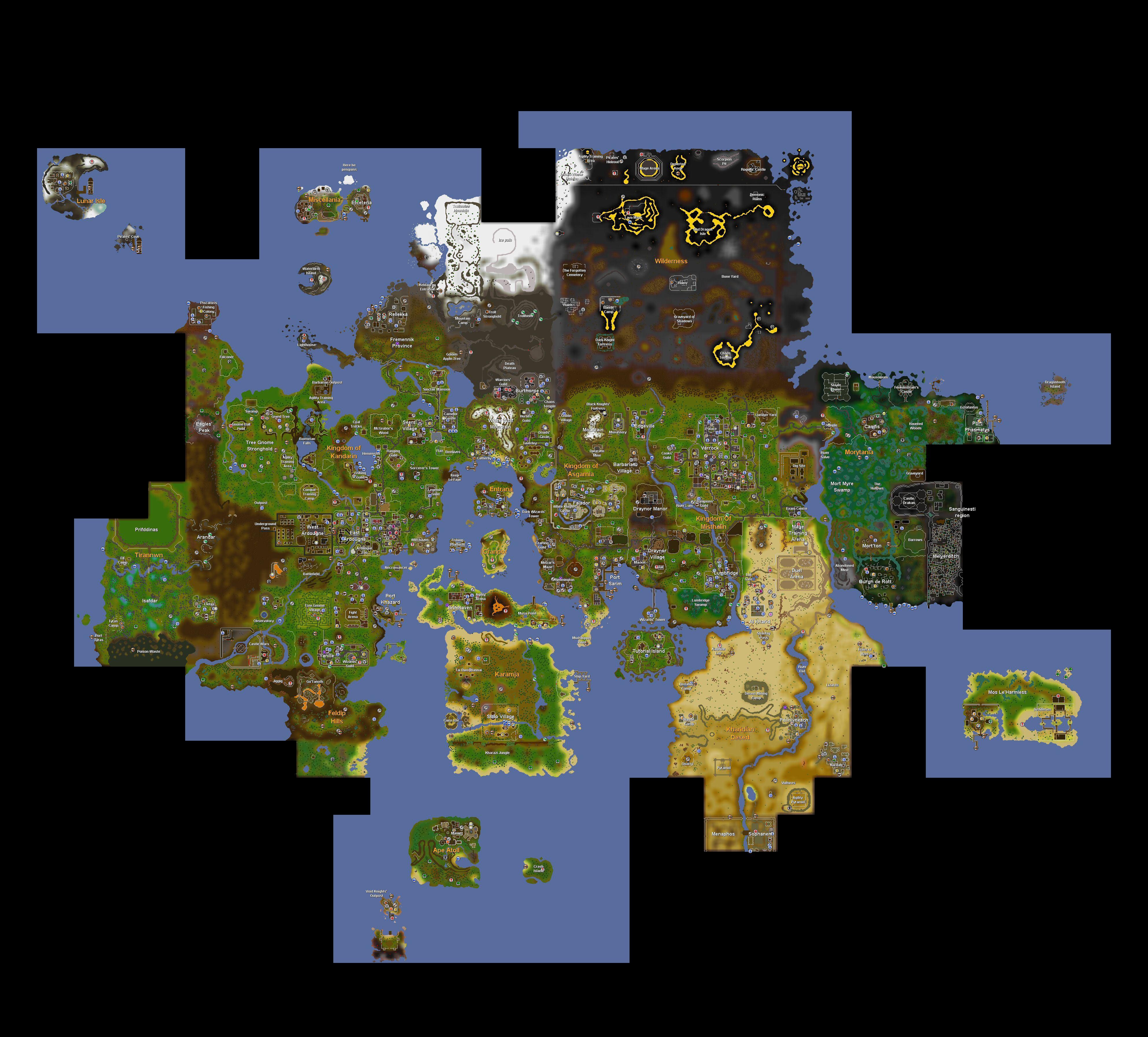 World map/History | RuneScape Wiki | Fandom