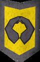 Rune kiteshield (Varrock) detail