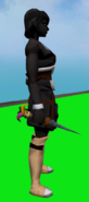 Twisted Jester Dagger equipped