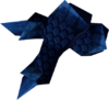Blue dragonhide vambraces detail