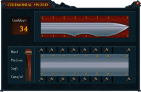 Ceremonial sword plans V