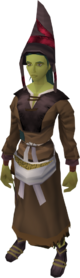 Farmer's outfit (female) equipped