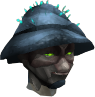Fungal visor chathead