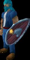 Gameblast Shield equipped