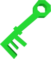 Key (green) detail