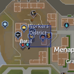 Menaphos bonfire location
