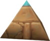 Pyramid hat head token detail