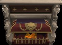 Sanctuary fireplace
