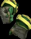 Achto Primeval Gloves detail