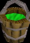 Bucket of slime detail