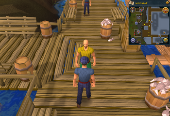 Cryptic clue Port Sarim Captain Tobias