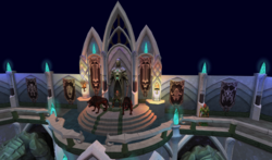 Elf city teaser - Iorwerth clan chained hellhounds