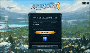 Lobby do RuneScape 3