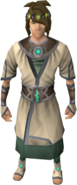 Robes of Remembrance outfit equipped (male)