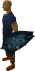 Rune berserker shield equipped