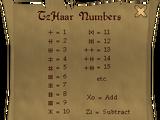 TzHaar language