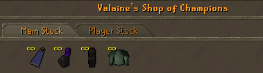 Valaines shop of champions