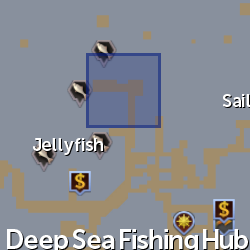 Adventurer (Deep Sea Fishing) location