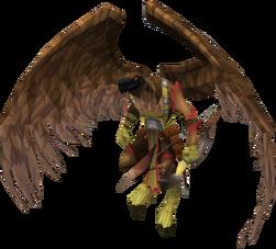 Armadylean bodyguard (aviansie ranger)