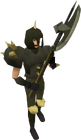Dharok the Wretched's equipment equipped old