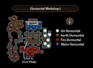 Elemental Workshop I map