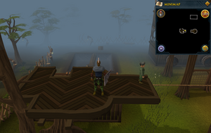 Emote clue Cry Gnome Agility course