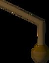 Left-handed lever detail