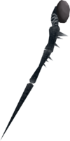 Noxious staff (Third Age) detail