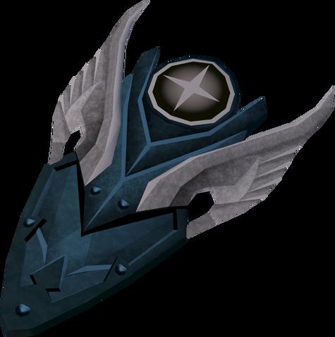 File:Rune kiteshield (Saradomin) detail.png