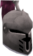 Steel heraldic helm (Fairy) chathead