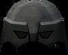 Warrior helm (iron) detail