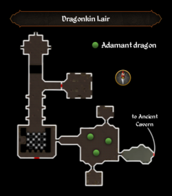 Dragonkin Lair map