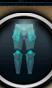 Ice warrior platelegs detail