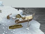 Ruined boat