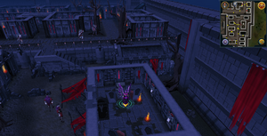 Scan clue Darkmeyer inside building south-east of north-east stairs