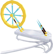 Spinning wheel (Prifddinas)