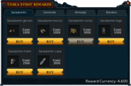 Tuska Event Rewards (Saradomin)