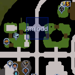 Amlodd herald location
