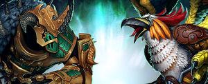 Banner oficial - O Pássaro e a Fera