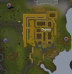 Digsite map
