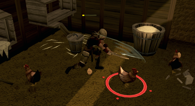 Killing chickens