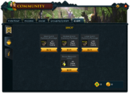 Community (Breaking the Storm) interface 2