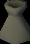 Frozen vase detail