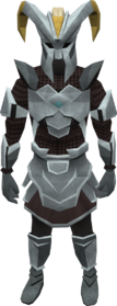 Gorgonite chain armour set (sk) (male) equipped