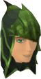 Green dragonhide coif chathead